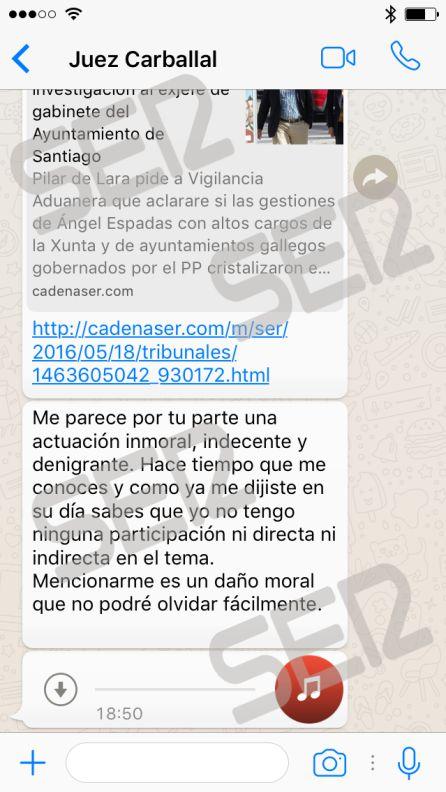 Corrupcion En Galicia Un Juez A Un Imputado La Jueza De