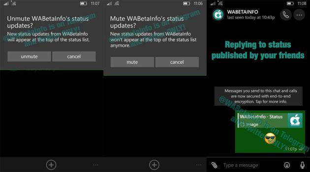 Whatsapp Prueba Las Notificaciones Para Los Cambios De