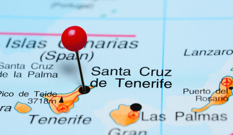 Islas Canarias Mapa Politico.Exigen Al Gobierno Medidas Para Situar A Canarias