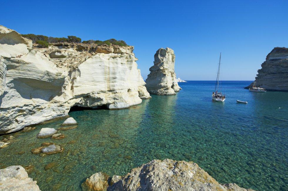 Playa de Kleftiko (Grecia)