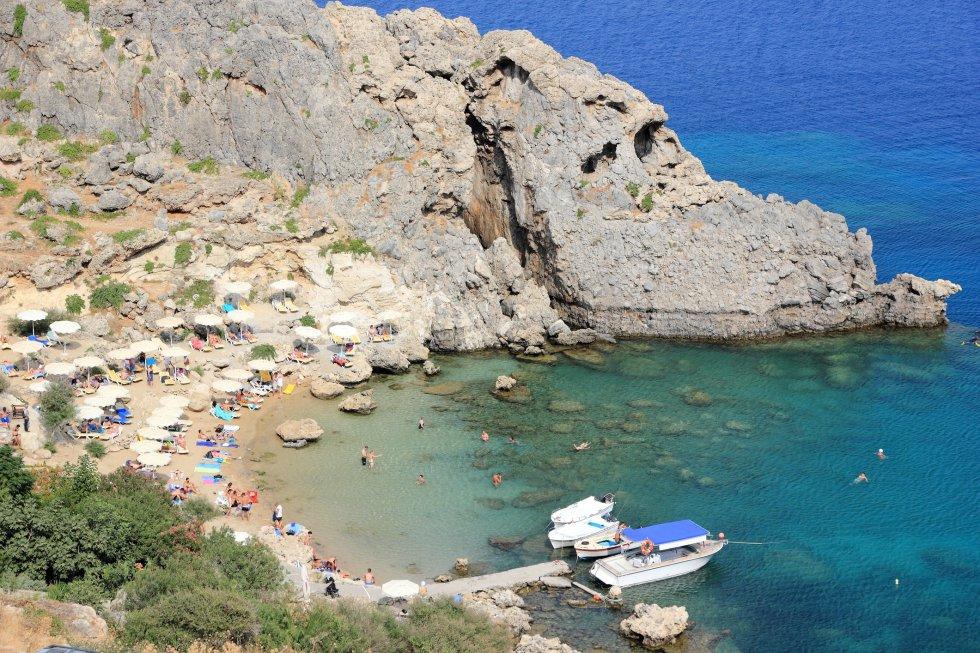 Playa de Agios Pavlos (Grecia)