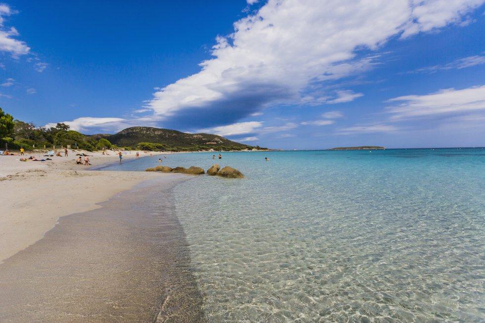 Playa de Palombaggia (Francia)