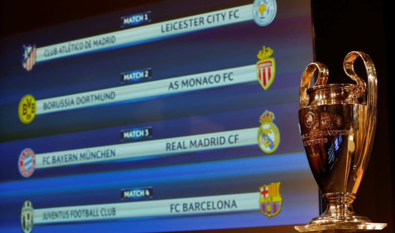 Sorteo Champions: Duros cruces para Real Madrid y Barça en los ...