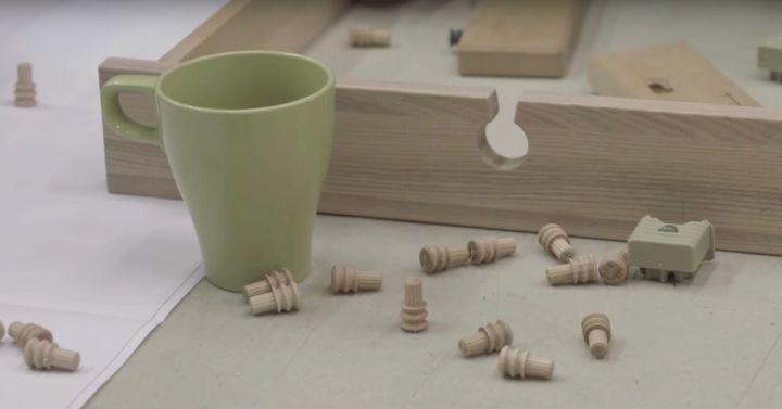 como tapar los tornillos muebles ikea