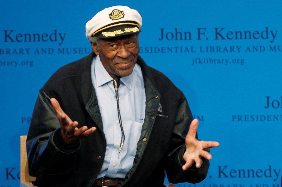 Chuck Berry en 2012 en Boston, Massachusetts.