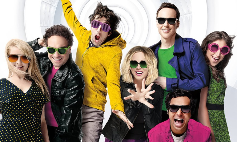 El reparto principal de 'The Big Bang Theory'