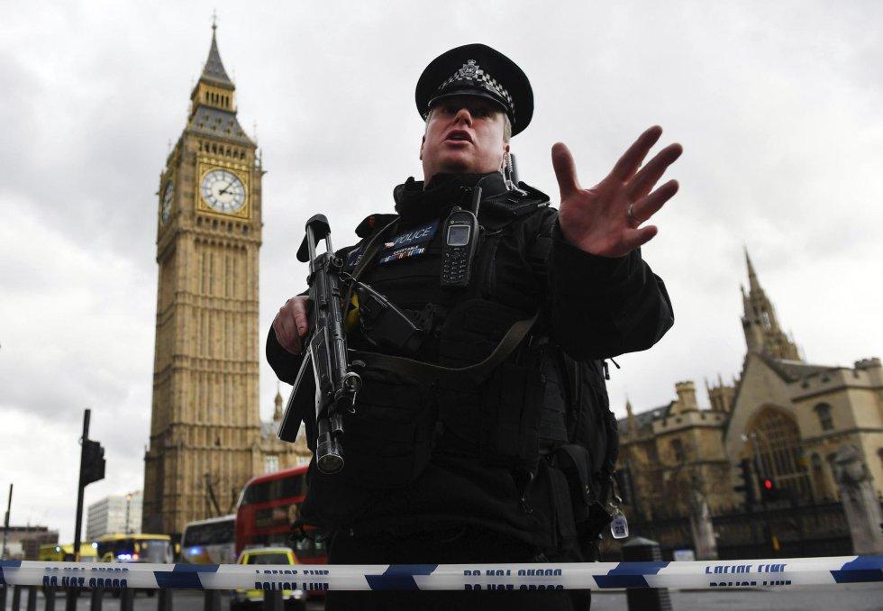 Atentado Londres: Ataque junto al Parlamento de Londres