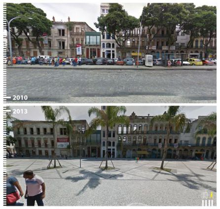 Río de Janeiro 'Before and After'.