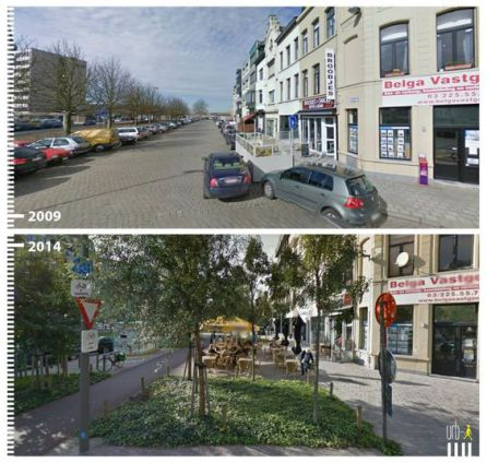 Ámsterdam 'Before and After'.