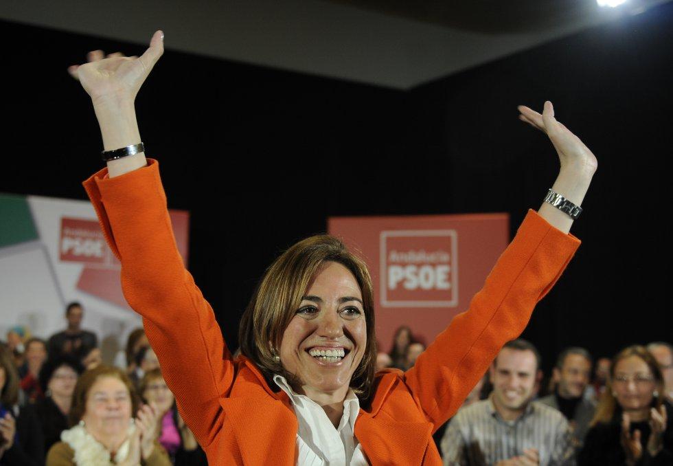 La vida de Carme Chacón está ligada al PSOE desde su juventud
