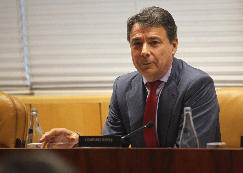 Fotografía de archivo (20/11/2015) del expresidente de la Comunidad de Madrid, Ignacio González, que ha sido detenido hoy en la operación de la Guardia Civil por la supuesta gestión irregular del Canal de Isabel II.