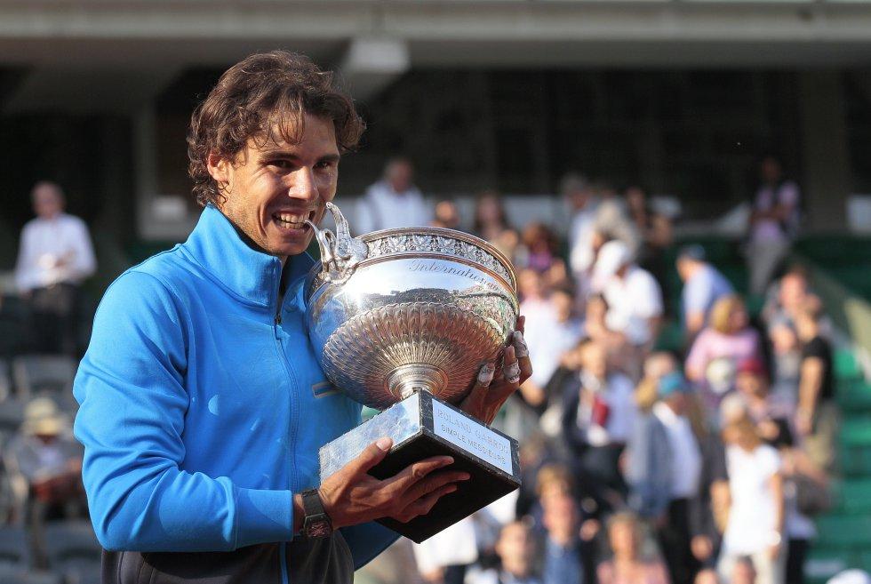 Nadal vuelve a repetir éxito y muerde su sexto Roland Garros (2011)