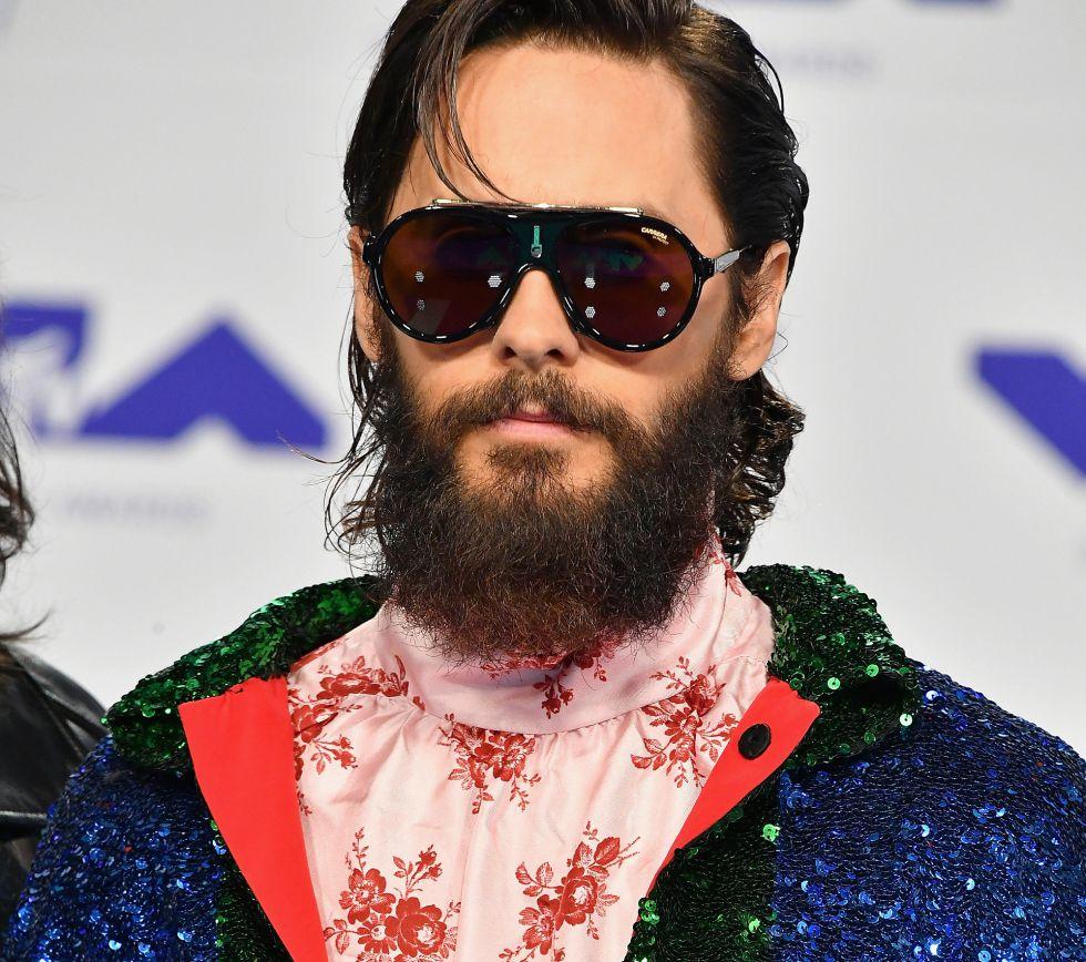 El músico y actor Jared Leto durante los premios MTV Video Music Awards 2017 en el Forum de Inglewood, California.