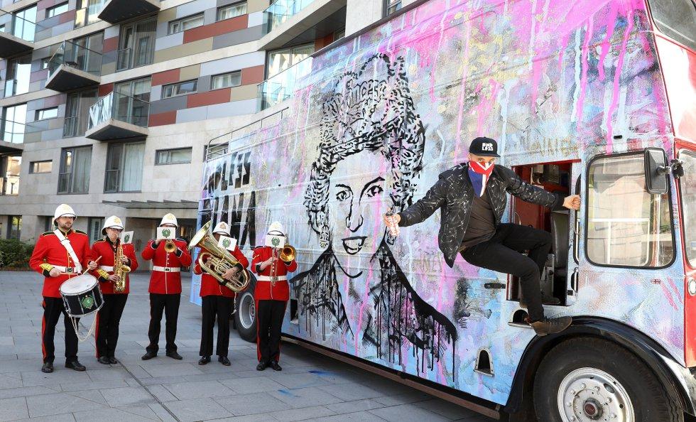 Homenaje a Diana de Gales en Londrés.