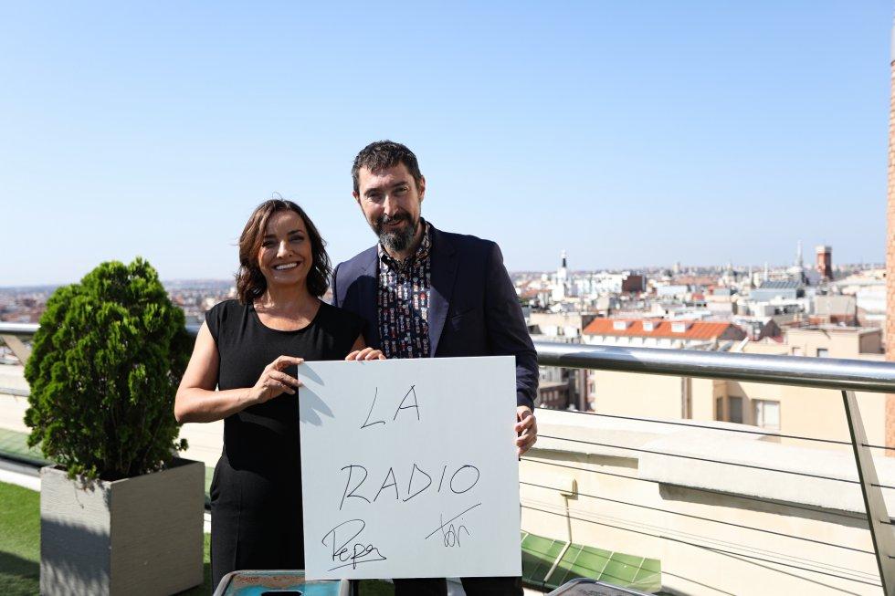 Los directores de 'Hoy por hoy', Pepa Bueno y Toni Garrido.