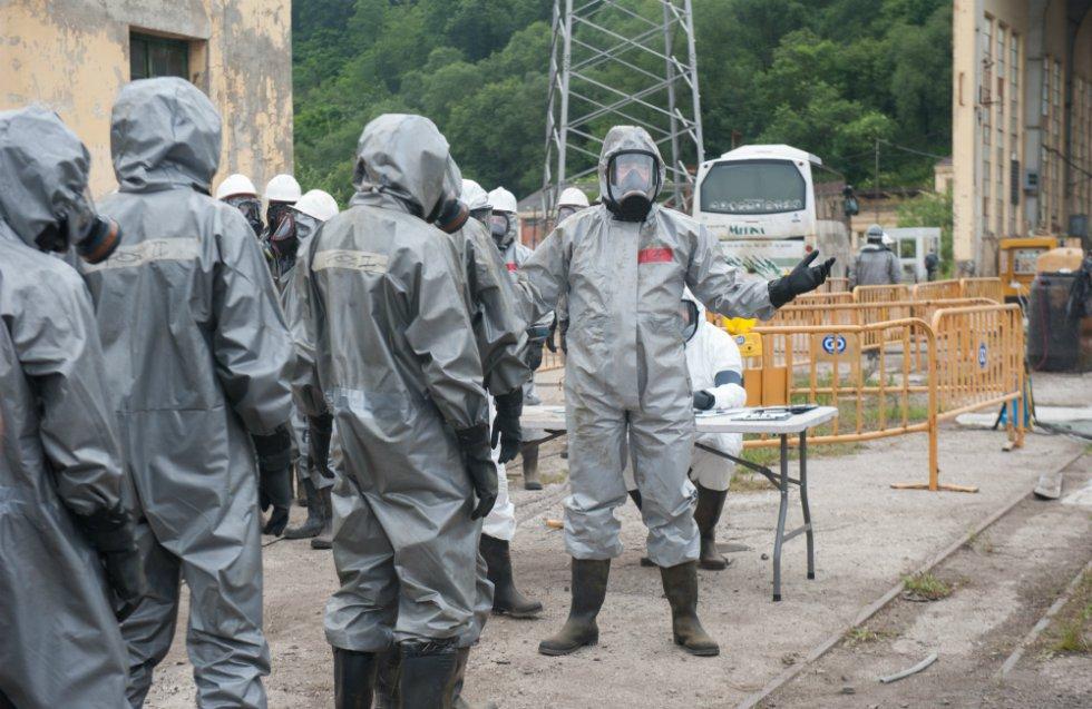 """El objetivo de Alberto Sánchez- Cabezudo, creador de la serie, ha sido trasladar el accidente de Fukushima al norte de España. """"Nos planteamos traer el mundo de Chernóbil o Fukushima a un escenario local."""