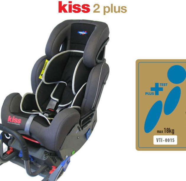 La alternativa a Recaro. Así es la Kiss 2 plus.