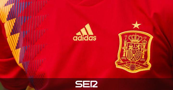La nueva camiseta de España df583e8b3ef