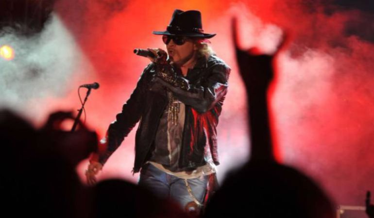 Guns N'Roses actuará en el Download Festival de Madrid en junio de 2018