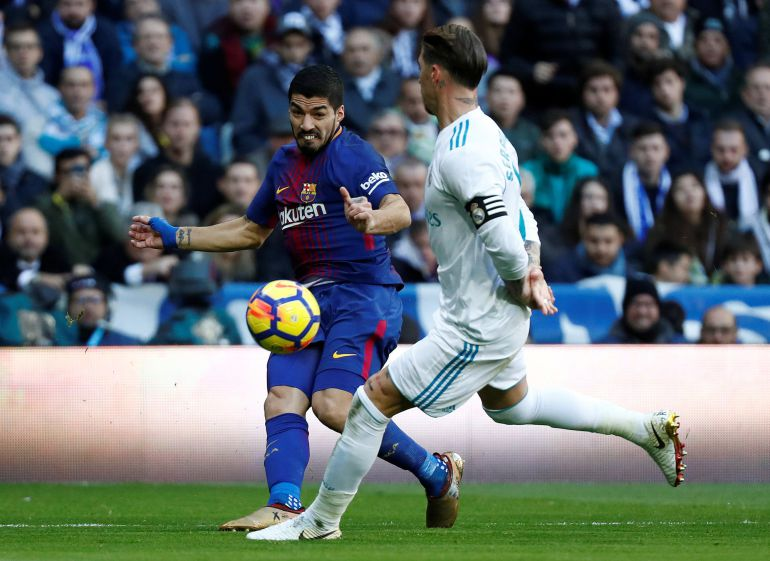 Image result for Ramos with Suarez