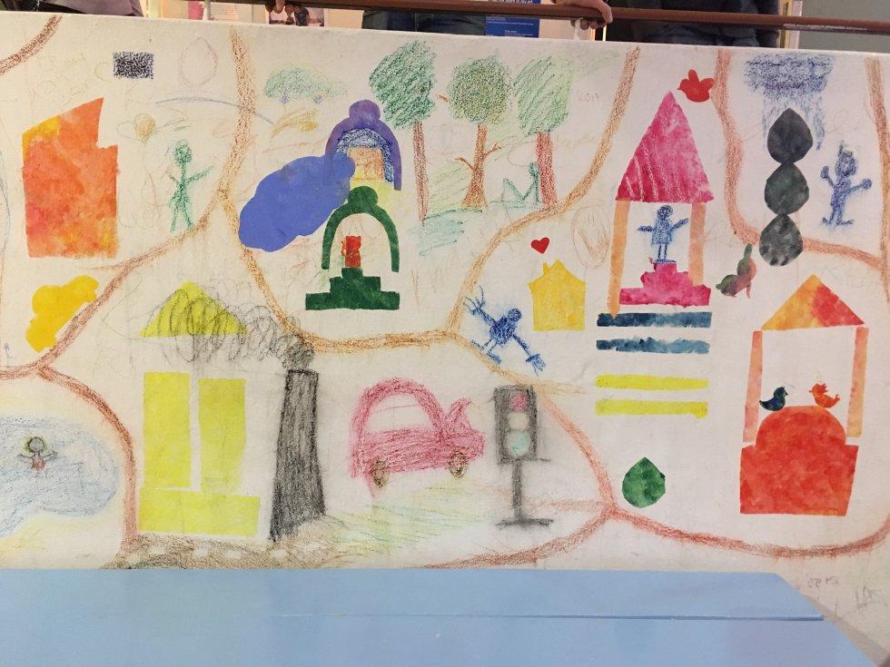 Dibujos elaborados por los alumnos.