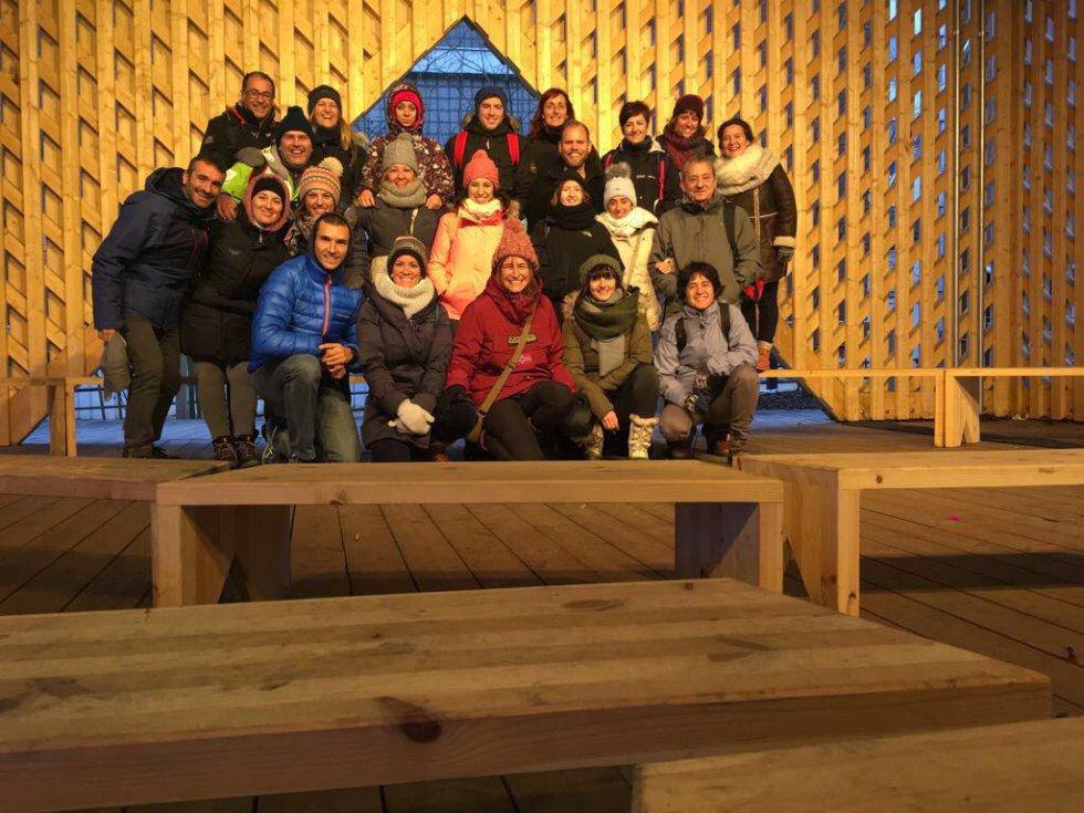 El grupo de profesores que fueron a Finlandia.