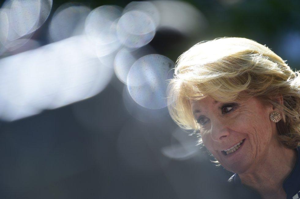 Esperanza Aguirre, primera presidenta del Senado (1999-2002)