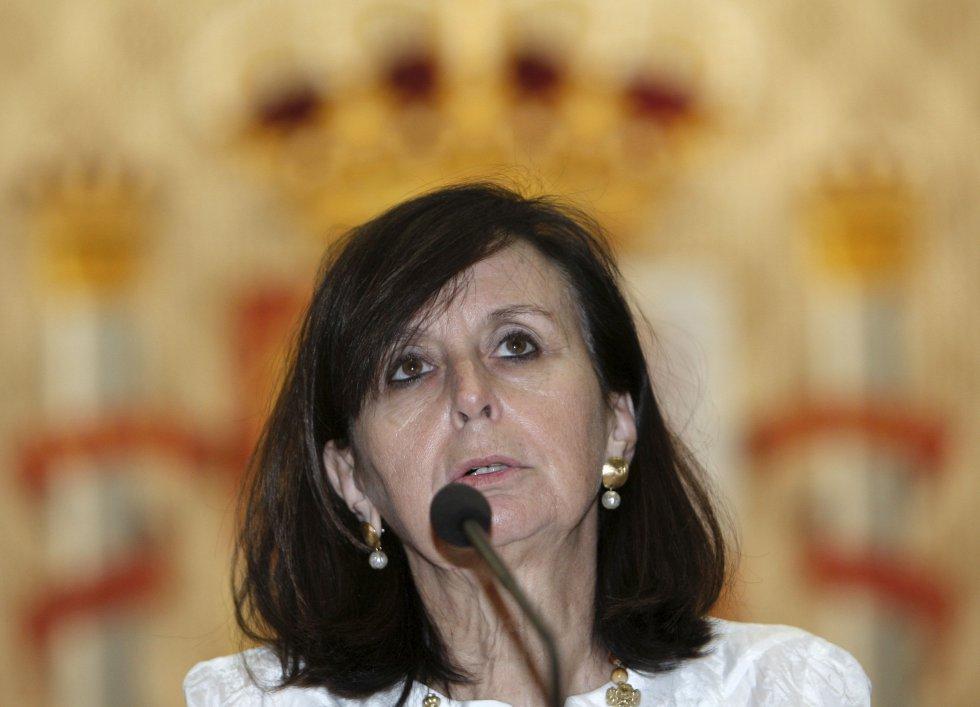 María Emilia Casas, primera presidenta del Tribunal Constitucional (2004-2011).