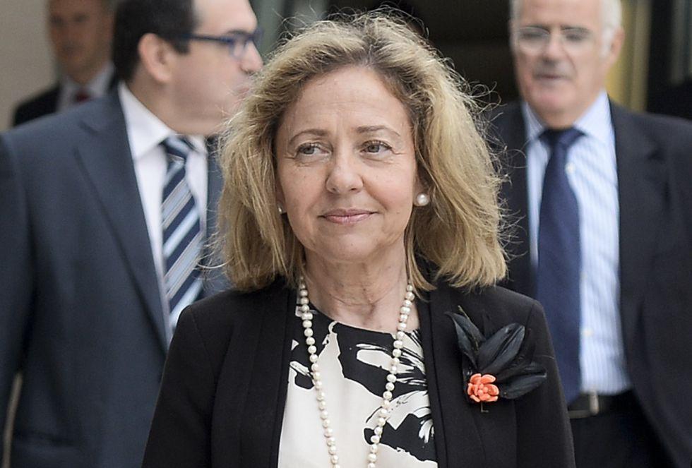 Consuelo Madrigal, primera Fiscal General del Estado (2015-2016).