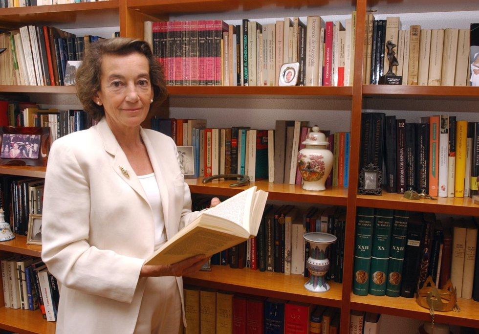 Cristina Alberdi, primera mujer en el Consejo del Poder Judicial (1985-1990).