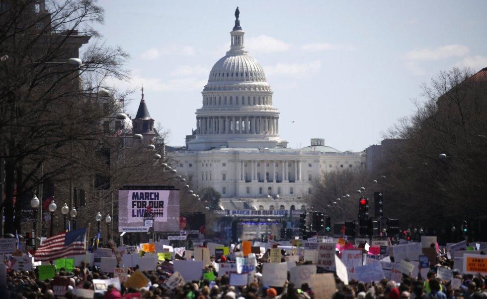 Imagen de la protesta de Washington