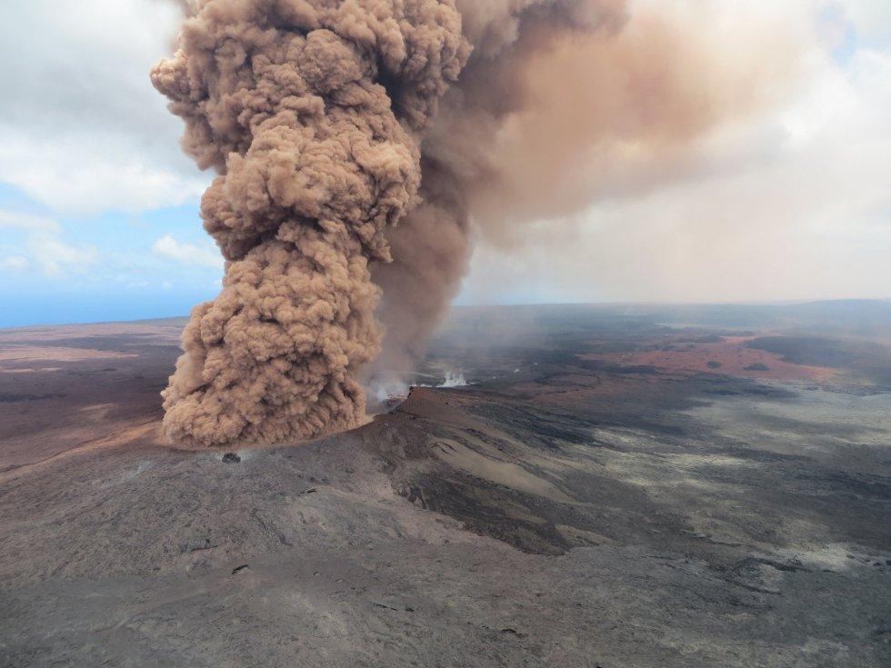 Las impactantes imágenes del volcán Kilauea en Hawái