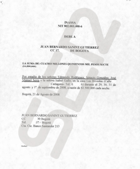 Contrato intervenido