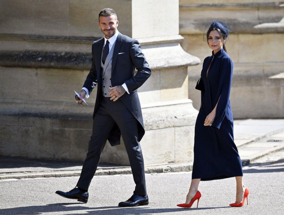El futbolista británico David Beckam y la diseñadora y cantante Victpria Beckam.