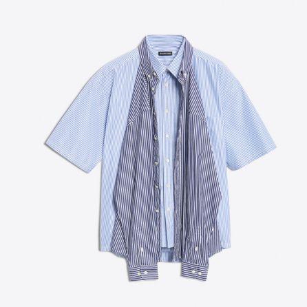 servicio duradero diseño distintivo Garantía de calidad 100% La controvertida 'camiseta camisa' de Balenciaga que cuesta ...