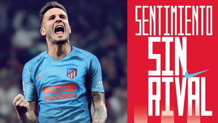 El Atlético de Madrid presenta su segunda equipación 35fe9eb083f