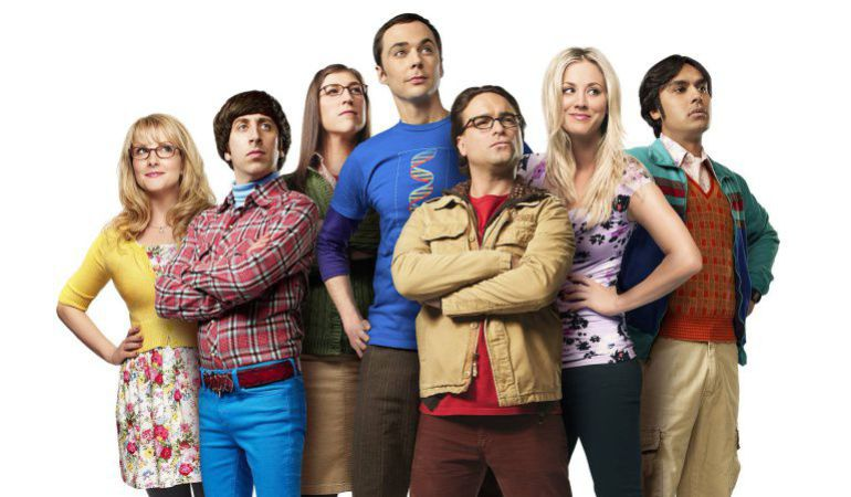 El elenco de 'The Big Bang Tehory'