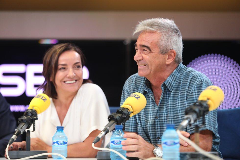 Pepa Bueno ('Hoy por hoy') y Carles Francino ('La Ventana').