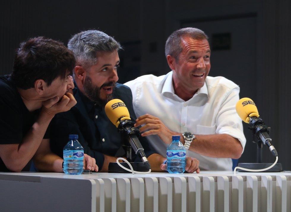 Juan Carlos Ortega, Dani Garrido y Manu Carreño.