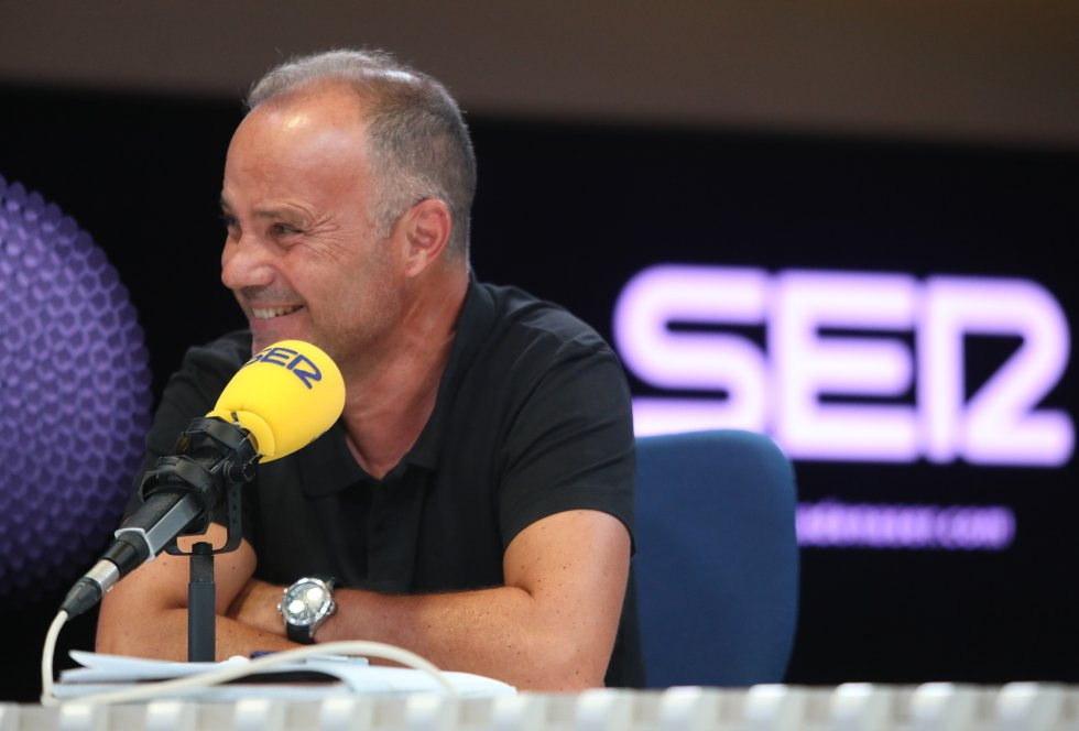 José Antonio Marcos, director del informativo 'Hora 14'.