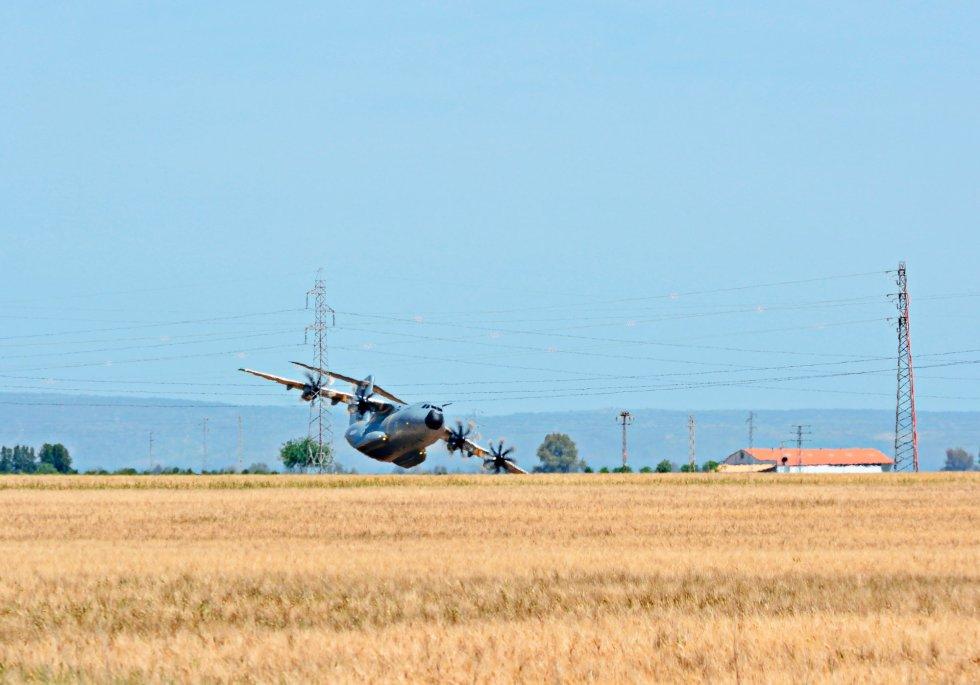 Airbus A400M: Salen a la luz imágenes inéditas del accidente del Airbus A400M