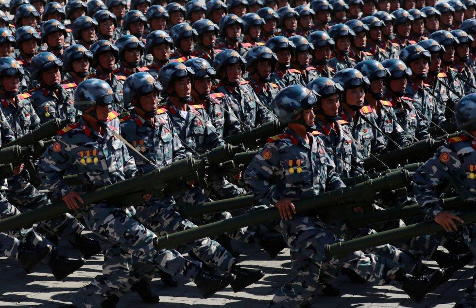 El 70º aniversario de Corea del Norte, en imágenes