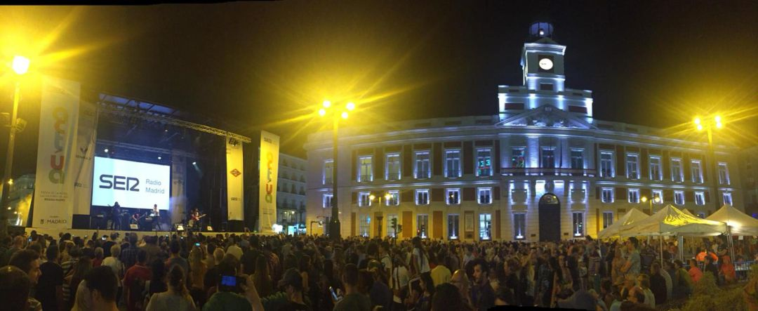 La Puerta Del Sol Vibra Con El Festival Actua 2018 Radio