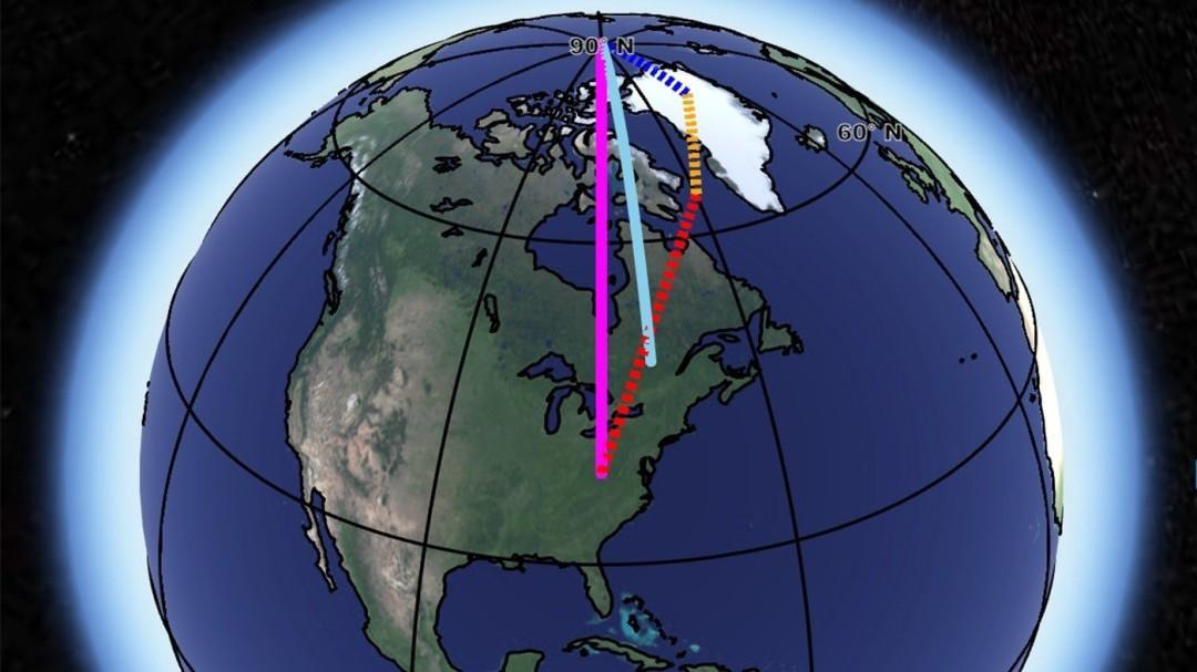 Así está modificando el cambio climático el eje de rotación de la Tierra