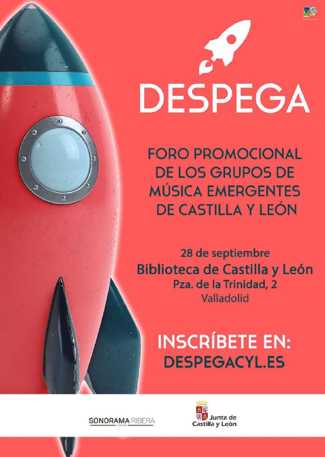 Cartel DespegaCYL 2018