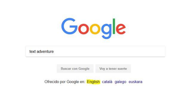 Google Esconde Un Juego De Aventuras En Su Buscador Asi Puedes