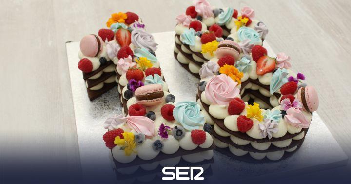 Tartas numéricas: la última moda en pasteles de cumpleaños