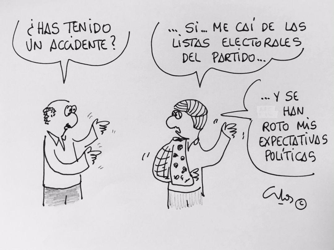 Resultat d'imatges de listas electorales viñetas