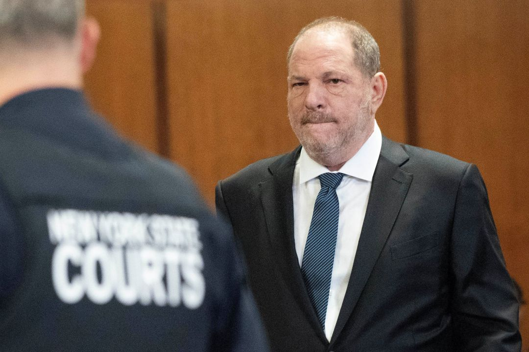 Harvey Weinstein en la Criminal Court de Manhattan