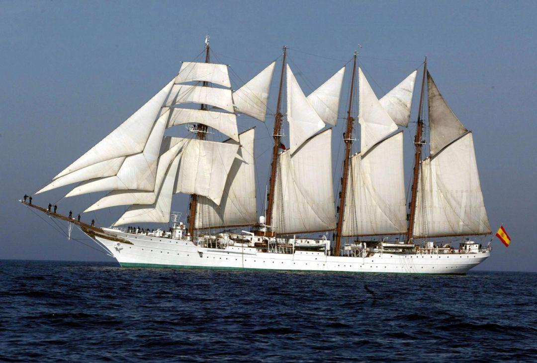 Elcano Avanza Su Puesta A Punto Antes De Inciar Su 91 Crucero De